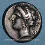 Münzen Italie. Campanie. Neapolis. Didrachme, vers 325-241 av. J-C