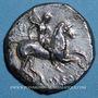 Münzen Italie. Tarente. (vers 302-281 av. J-C). Deinokratès, magistrat. Didrachme