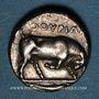 Münzen Lucanie. Thurium (4e siècle av. J-C). Statère
