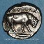 Münzen Lucanie. Thurium (vers 443-400 av. J-C). Statère
