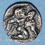 Münzen Macédoine. Lété (530-480 av. J-C). Obole