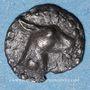 Münzen Macédoine. Mendé (vers 520-480 av. J-C). Trihémitartémorion