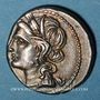 Münzen Monnayage italo-punique (Bruttium ?) (vers 215-205 av. J-C). Demi-shekel