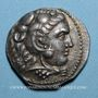 Münzen Roy. de Macédoine. Alexandre III le Grand (336-323 av J-C) Tétradrachme Acé-Ptolémaïs 316-315 av J-C