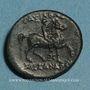 Münzen Roy. de Macédoine. Cassandre (306-297 av. J-C). Bronze. Atelier incertain