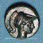 Münzen Roy. de Macédoine. Démetrios I Poliorcète (294-288 av. J-C). 1/2 unité. Atelier incertain, 290-283