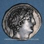 Münzen Roy. de Syrie. Antiochus VIII Grypus (121-96 av. J-C) Tétradrachme. Acé-Ptolemaïs vers 115-113 av JC