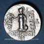 Münzen Royaume de Cappadoce. Ariarathes VI Epiphane Philopator (130-115 av. J-C). Drachme, an 15