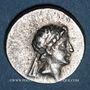 Münzen Royaume de Cappadoce. Ariarathes VI Epiphane Philopator (130-115 av. J-C). Drachme, an 1