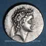 Münzen Royaume de Cappadoce. Ariarathes VII Philométor (115-101 av. J-C). Drachme, an 8