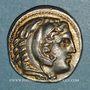 Münzen Royaume de Macédoine. Alexandre III le Grand (336-323 av. J-C) Tétradrachme Amphipolis 315-294 av JC