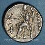 Münzen Royaume de Macédoine. Alexandre III le Grand (336-323) Tétradrachme.  Amphipolis 315-294 av JC