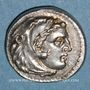 Münzen Royaume de Macédoine. Philippe III l'Aridée (323-317 av. J-C). Drachme. Sardes, 323-319 av. J-C