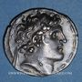 Münzen Royaume de Syrie. Alexandre I Balas (152-145 av. J-C). Tétradrachme. Antioche sur l'Oronte, an 164