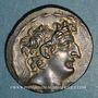 Münzen Royaume de Syrie. Antiochus VIII Grypus (121-96 av. J-C). Tétradrachme. Antioche (109-96 av. J-C)