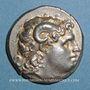 Münzen Royaume de Thrace. Lysimaque (323-281 av. J-C). Tétradrachme, atelier indéterminé