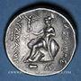 Münzen Royaume de Thrace. Lysimaque (323-281 av. J-C). Tétradrachme. Kios (Bithynie), 270-240 av. J-C