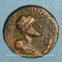 Münzen Royaume des Kouchans. Vima Taktu le Grand Sauveur (Soter Megas, vers 55-105). Tétradrachme, Taxila