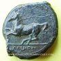 Münzen Sicile. Alaisa (vers 365 av. J-C). Bronze. R/: cheval à g.