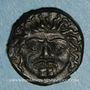 Münzen Sicile. Camarina. Vers 420-410 av. J-C. Tétras