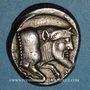 Münzen Sicile. Géla. Tétradrachme, 420-405