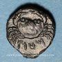 Münzen Sicile. Motya (410-390 av. J-C). Bronze