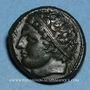 Münzen Sicile. Syracuse. 4e Démocratie. Bronze, vers 289-287 av. J-C
