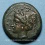 Münzen Sicile. Syracuse. Timoleon (344-336 av. J-C). Bronze