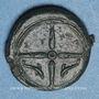 Münzen Sicile. Syracuse (vers 405 av. J-C). Hémilitron attribué à Eukleidas