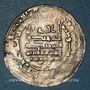 Münzen al-Jazira. Abbassides. al-Muqtadir (295-320H). Dirham 303H. Harran