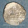 Münzen al-Jazira. Ortoquides de Mardin. Ghazi I (637-658H). 1/2 dirham 65(5)H, (Mardin)