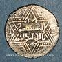 Münzen al-Jazira. Ortoquides de Mardin. Ghazi I (637-658H). Ar. Dirham, (Mardin)