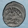 Münzen al-Jazira. Umayyades, vers 80-90H. Fals, Harran