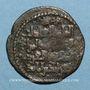 Münzen al-Jazira. Zenguides de Mossoul. Qutb al-Din Mawdud (544-564H). Dirham bronze 55(6)H