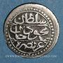 Münzen Algérie. Ottomans. Mahmoud II (1223-1255H). 1/8 boudjou 1244H. Alger