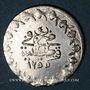 Münzen Anatolie. Ottomans. Abdoul Mejid (1255-1277H). Yirmilik 1255H / an 4, Qustantiniya