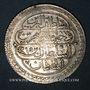 Münzen Anatolie. Ottomans. Mahmoud II (1223-1255H). Qurush 1223H / an 15 (5e standard), Qustantiniya