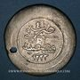 Münzen Anatolie. Ottomans. Mahmoud II (1223-55H).  Jihadiye 5 qurush 1223H / an 4 (3e standard), Qustantin