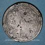 Münzen Balkans. Ottomans. Bronze, 40 Para 1277H/ An 4, contremarqué
