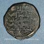 Münzen Caucase. Pishkinides. Pishkin II (vers 591-601H). Dirham de bronze, Hahar