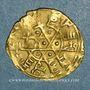 Münzen Egypte. Fatimides. al-Mustansir (427-487H). 1/4 dinar étoilé  (Sicile)