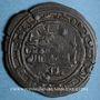Münzen Espagne. Hammudides de Malaga. al-Mahdi Muhammad I (438-446H). Dirham billon 43H, al-Andalus