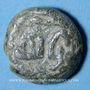Münzen Gouverneurs Umayyades d'Espagne. Fals anonyme 15 mm