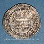 Münzen Iraq. Abbassides. al-Muqtadir (295-320H). Dirham 308H. Madinat al-Salam