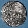 Münzen Maghreb. Aghlabides. Ibrahim II (261-289H). 1/2 dirham, al-'Abbasiya