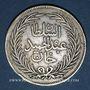 Münzen Maghreb. Ottomans. Abdoul Hamid II (1293-1327H = 1876-1909). 4 riyal 1294H. Tunis.