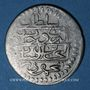 Münzen Maghreb. Ottomans. Mahmoud I (1143-1168H). ¼ de piastre 1150H. Tunis