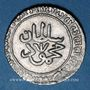 Münzen Maghreb. Ottomans. Mahmoud I (1143-1168H). 2 kharub 1153H. Tunis