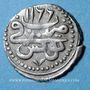 Münzen Maghreb. Ottomans. Mahmoud I (1143-1168H). Kharub 1166H. Tunis