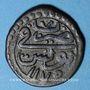 Münzen Maghreb. Ottomans. Mustafa III (1171-1187H). Burbe bronze 1175H, Tunis